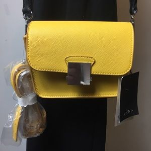 Zara 2 in 1 faux leather mini bag new with tags